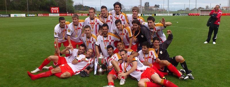 Catalunya campiona de la Copa Regions UEFA