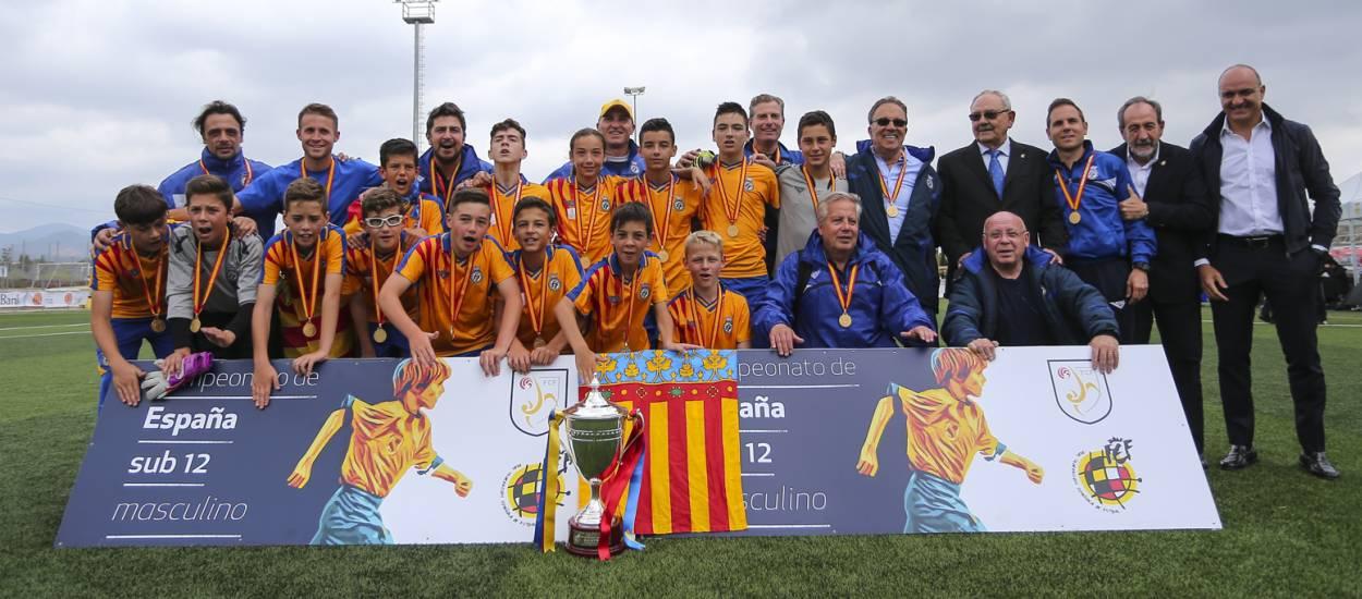 València es proclama campiona d'Espanya sub 12 masculí