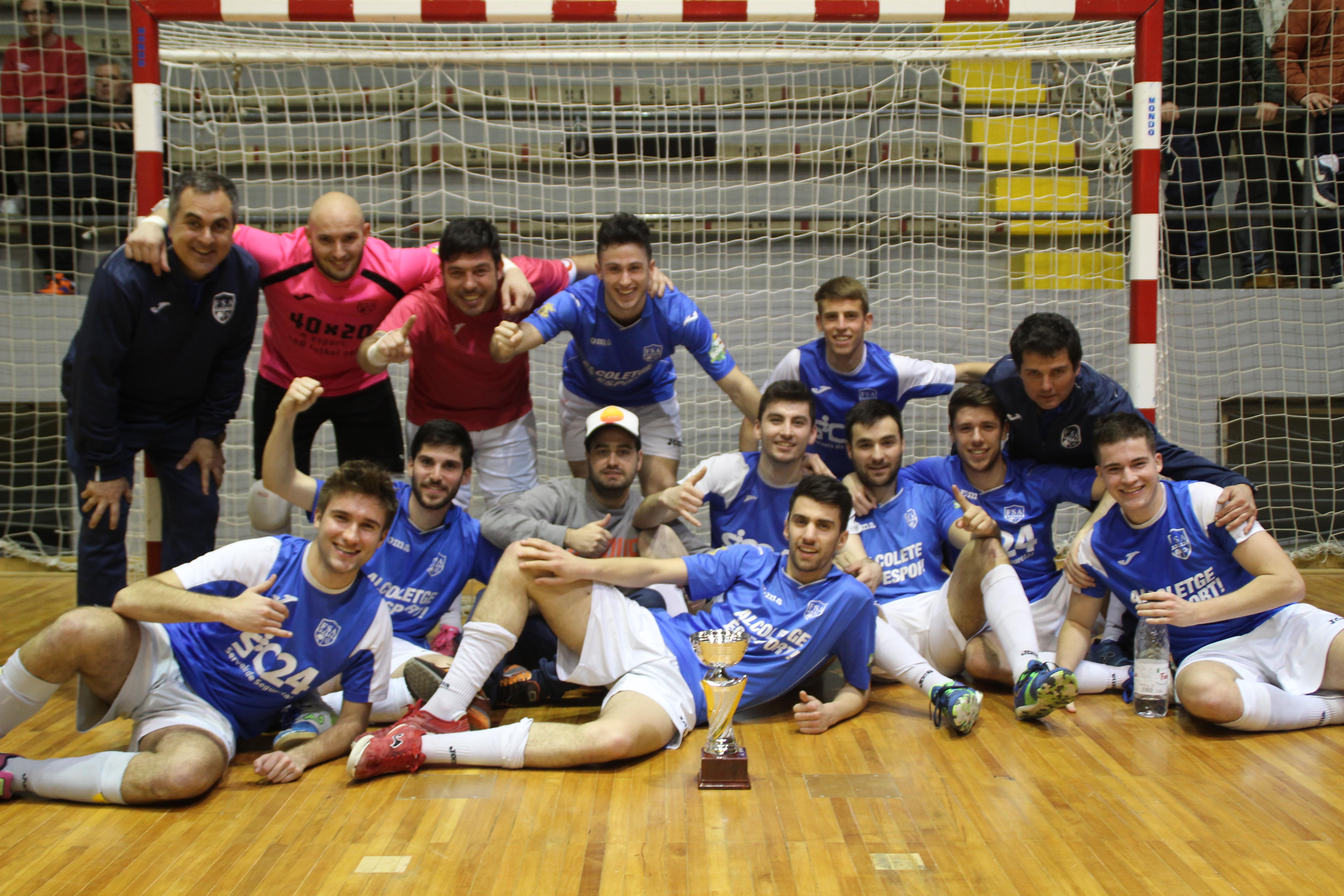 Campions Copa Lleida Sènior - CFS ALCOLETGE