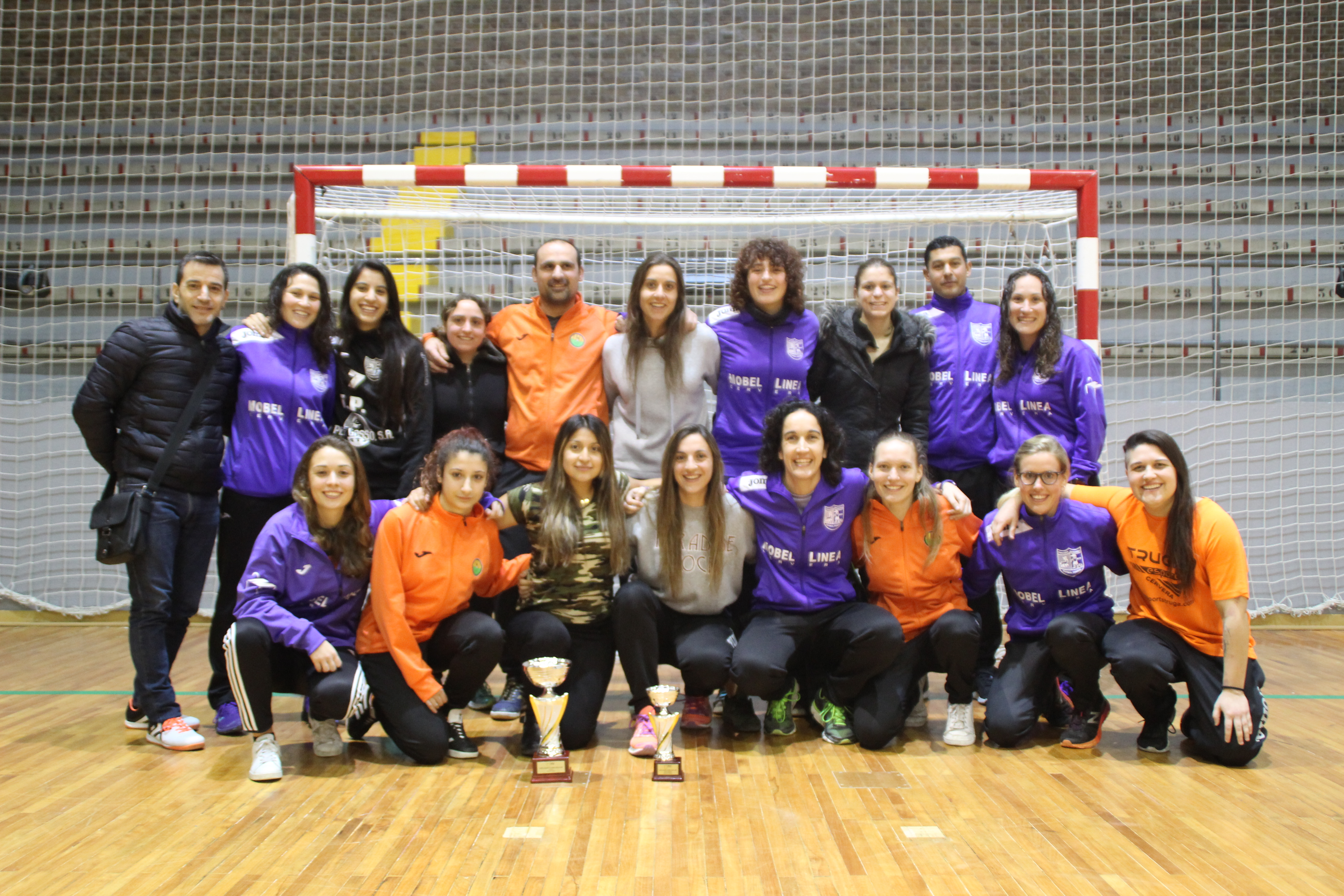 Campions Copa Lleida Sènior Fem - CF CERVERA-SEGARRA