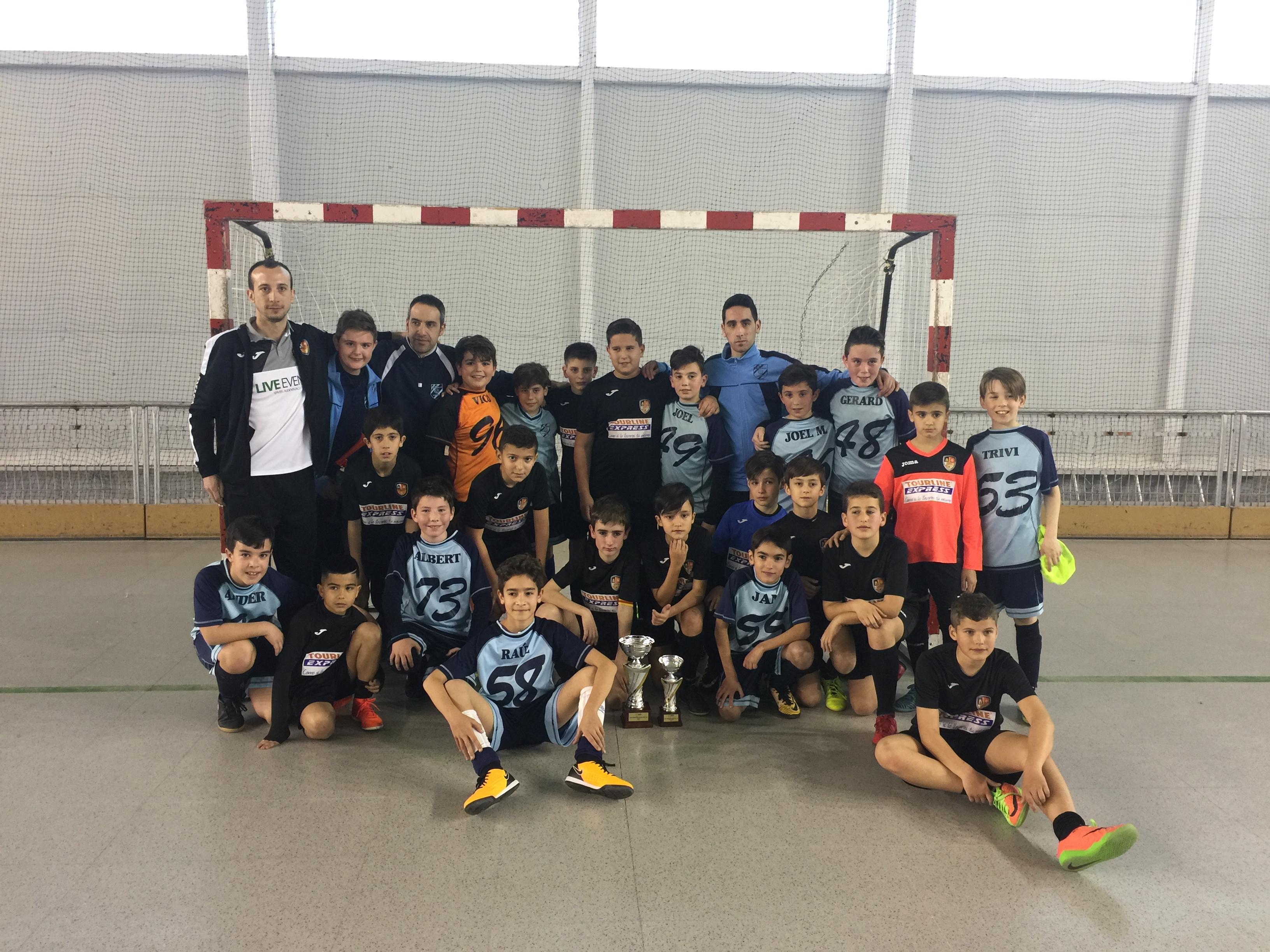 Campions Copa Tarragona Aleví - CFS MEDITERRANI CAMBRILS