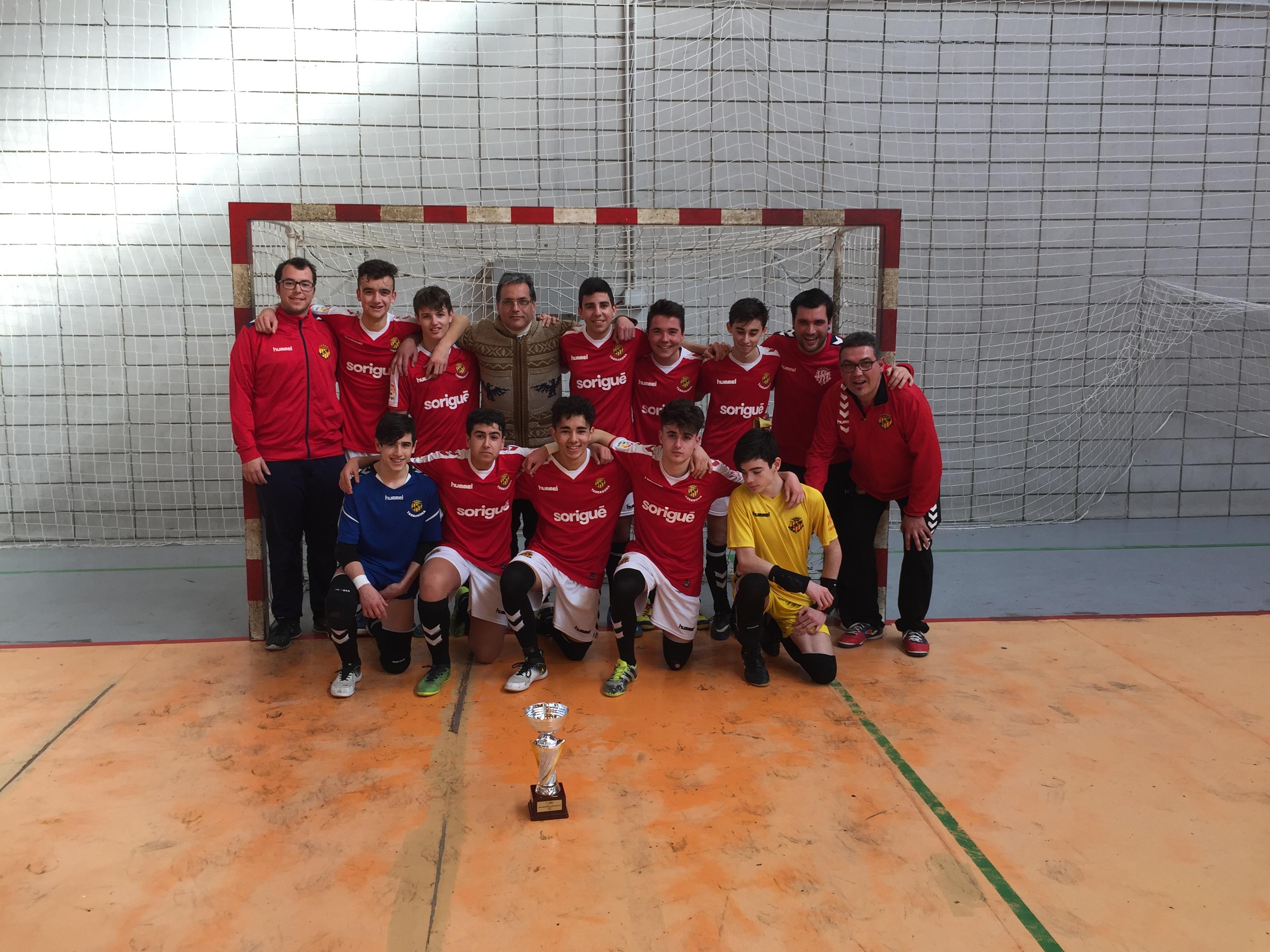 Campions Copa Tarragona Cadet - GIMNÀSTIC TARRAGONA