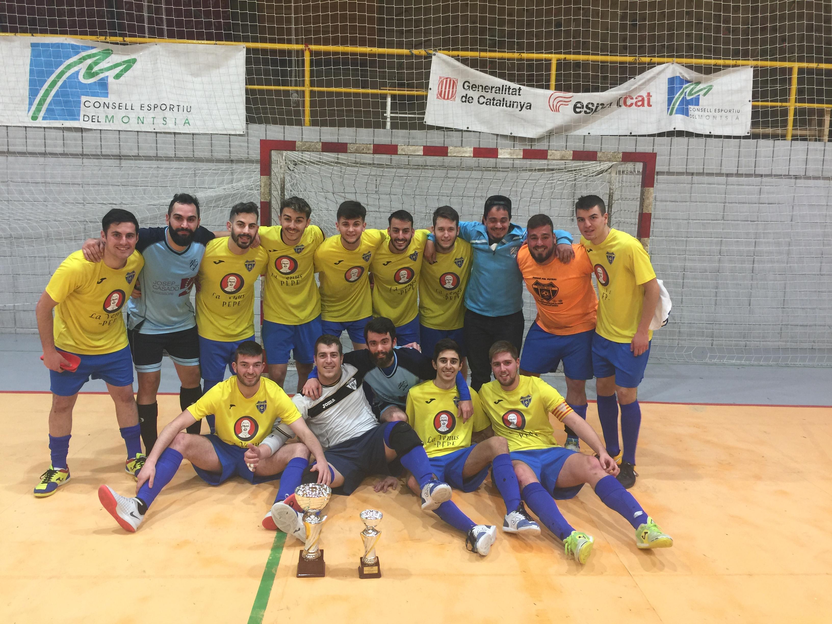 Campions Copa Tarragona Sènior - SALOU FS