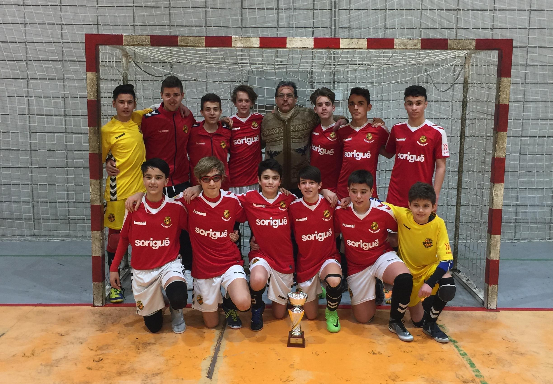 Campions Copa Tarragona Infantil - GIMNÀSTIC TARRAGONA