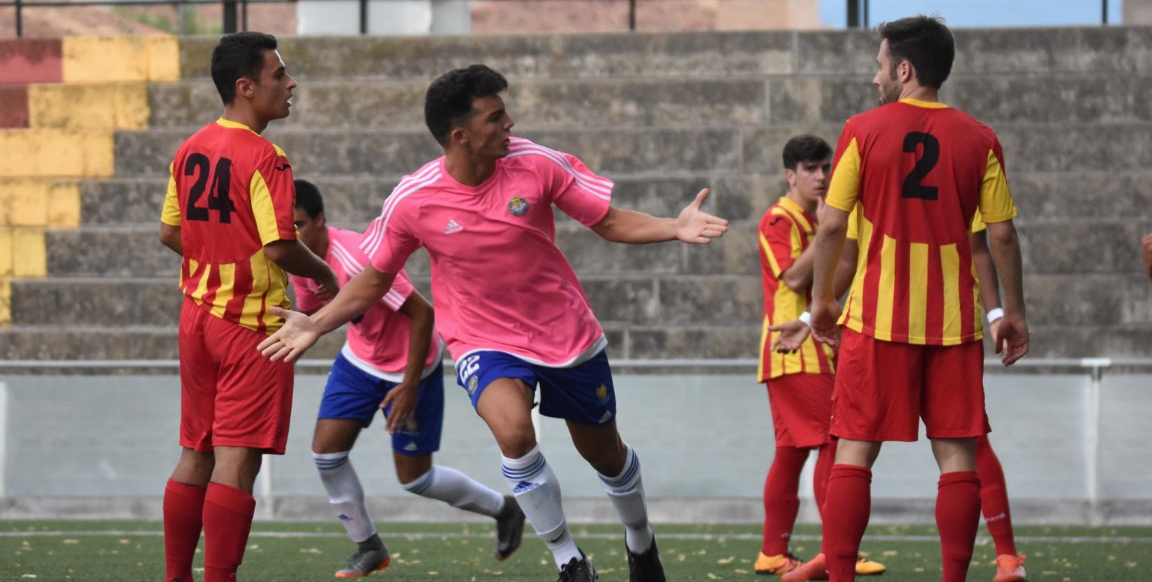 El Gimnàstic Manresa repetirà una nova temporada a la Divisió d'Honor Juvenil / FOTO: LUISPHOTO
