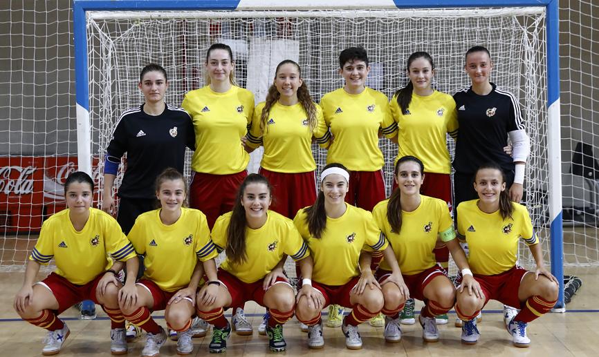 Selecció espanyola sub 18 femenina de futbol sala / Sefutbol.es