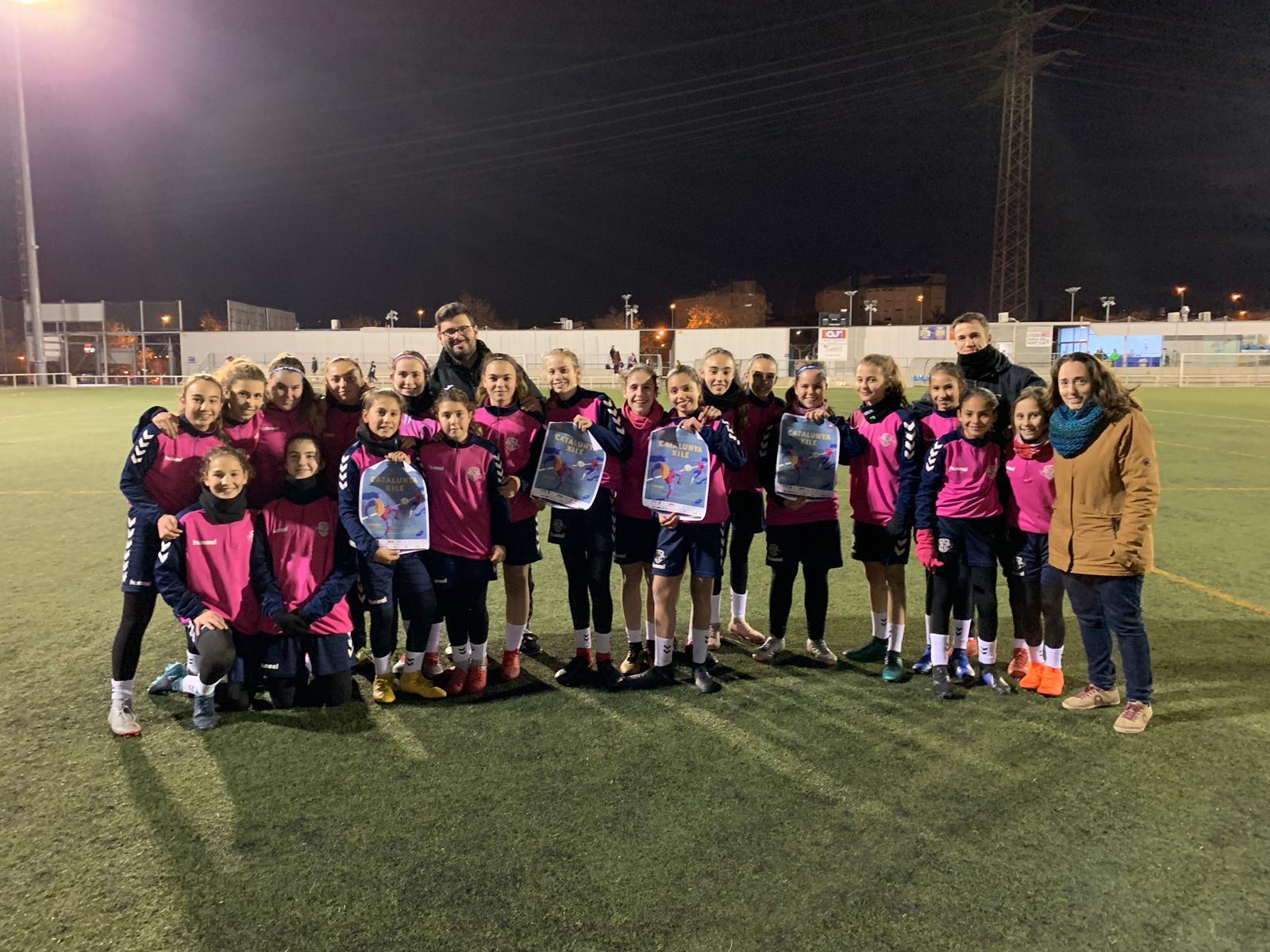 Equip femení de l'EF Manu Lanzarote