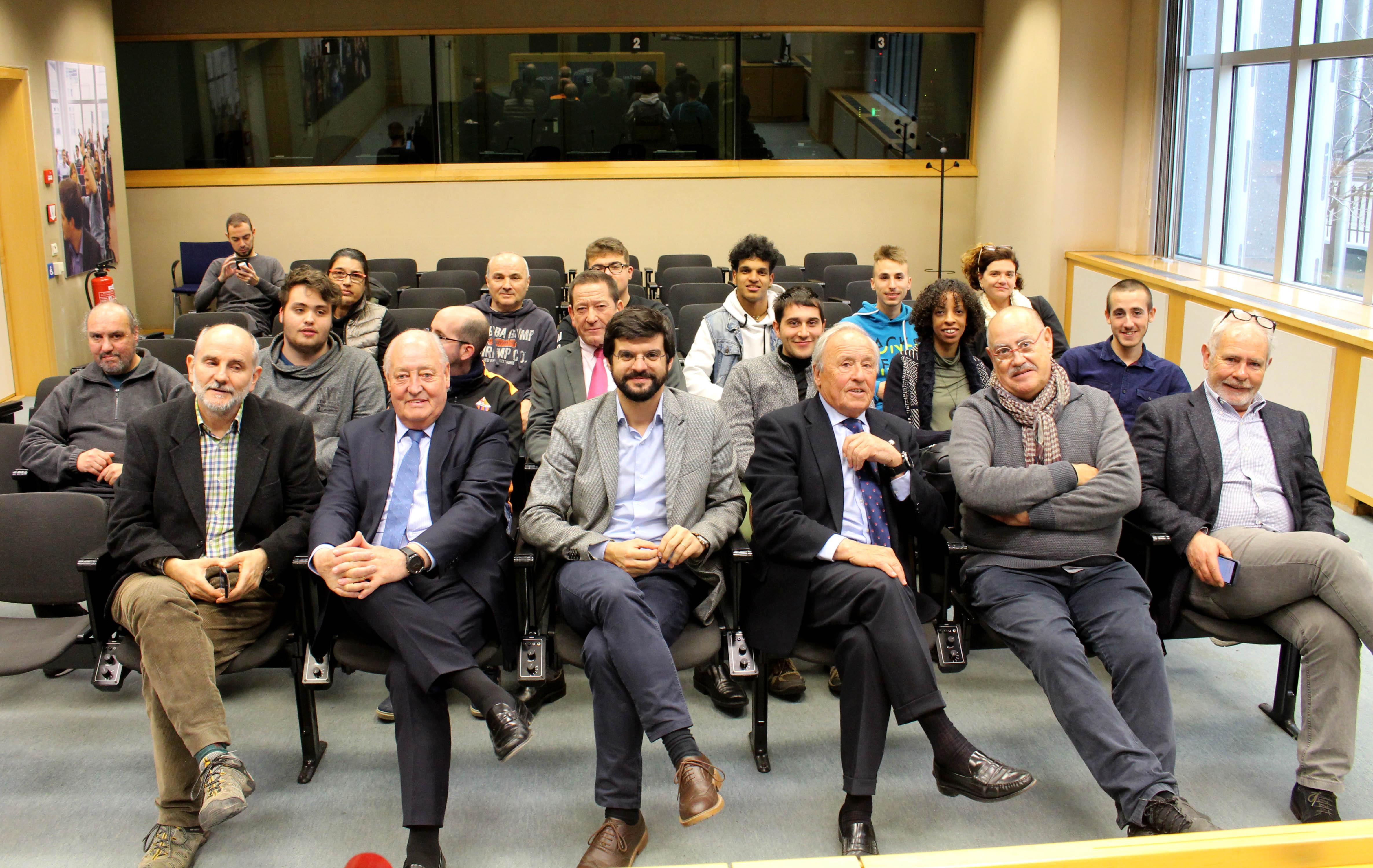 Membres de la delegació catalana al Parlament Europeu / UFEC