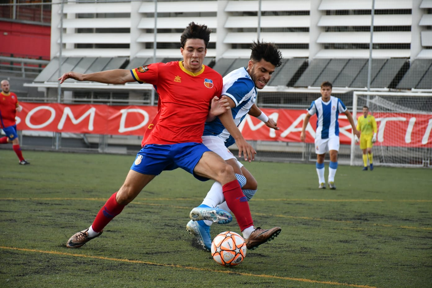 FC Martinenc - RCD Espanyol 'B' / FOTO: Dani Falcón