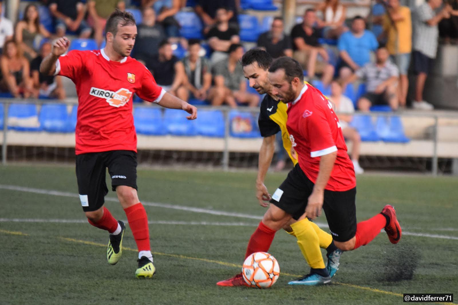 UE Castelldefels - FC Santboià / FOTO: David Ferrer