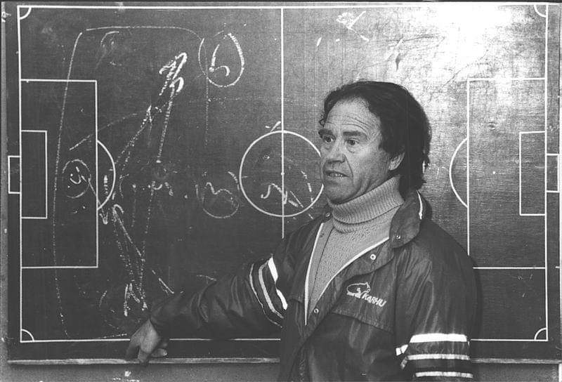 Antonio Lagunas, un tècnic revolucionari i pioner en la metodologia d'entrenament / FOTO: Arxiu Antonio Lagunas