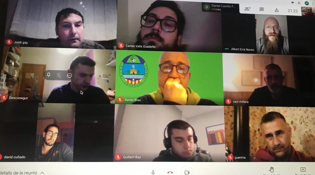 Reunió telemàtica amb els seleccionadors comarcals del Vallès Oriental