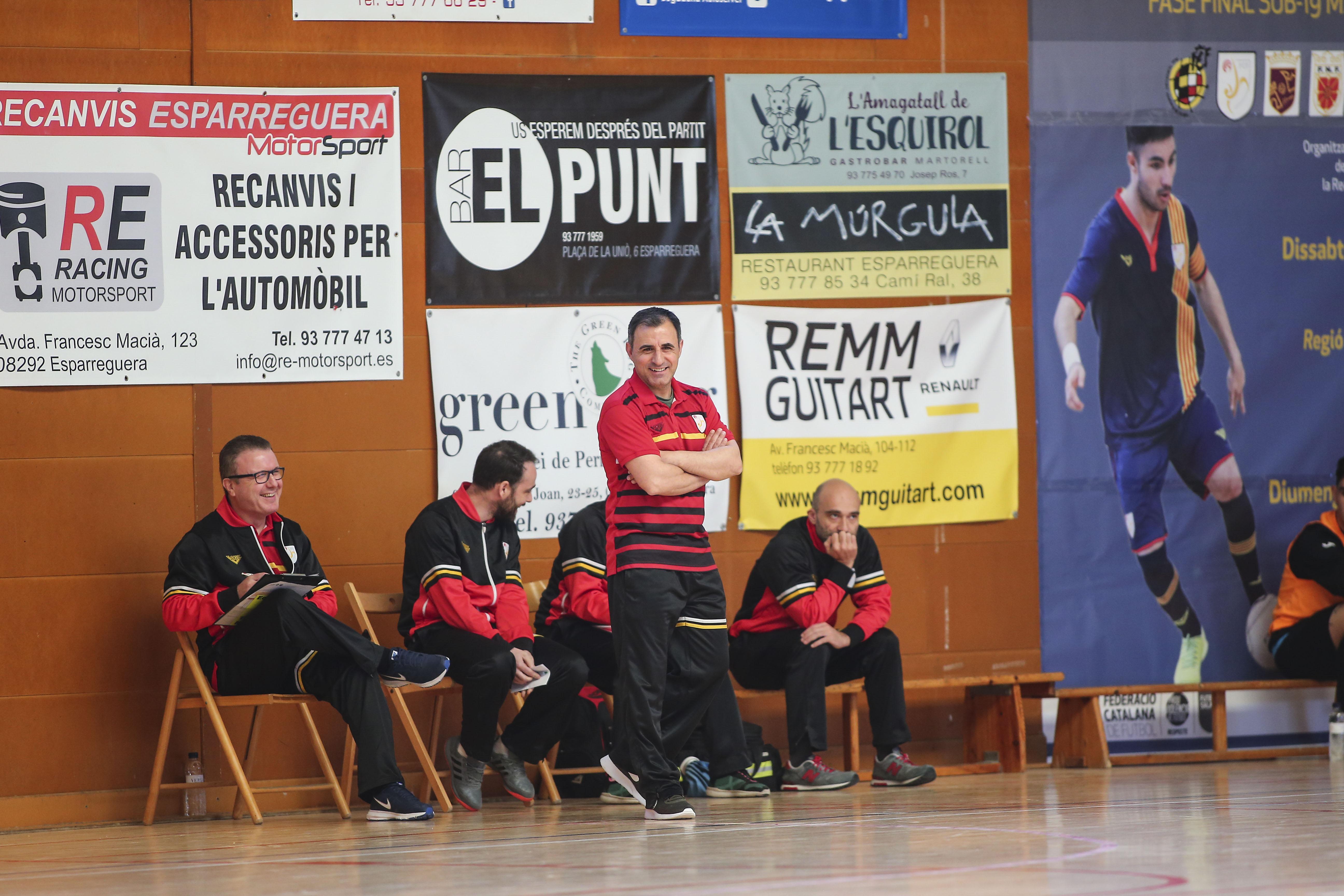 Antonio Mesa 'Chacho' va guanyar quatre Campionats d'Espanya sub 19