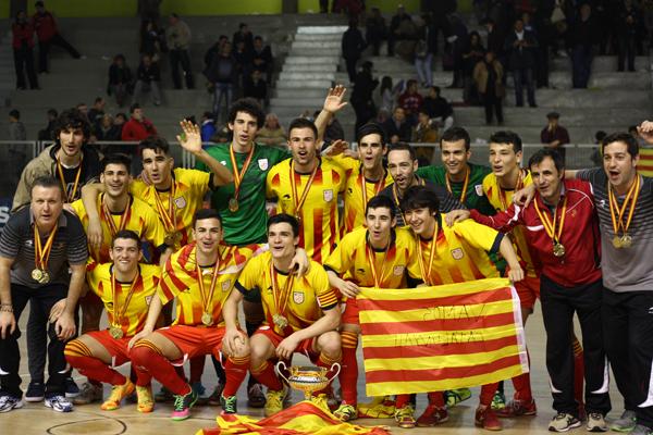 Campionat d'Espanya aconseguit a Santa Coloma de Gramenet (2013-2014)
