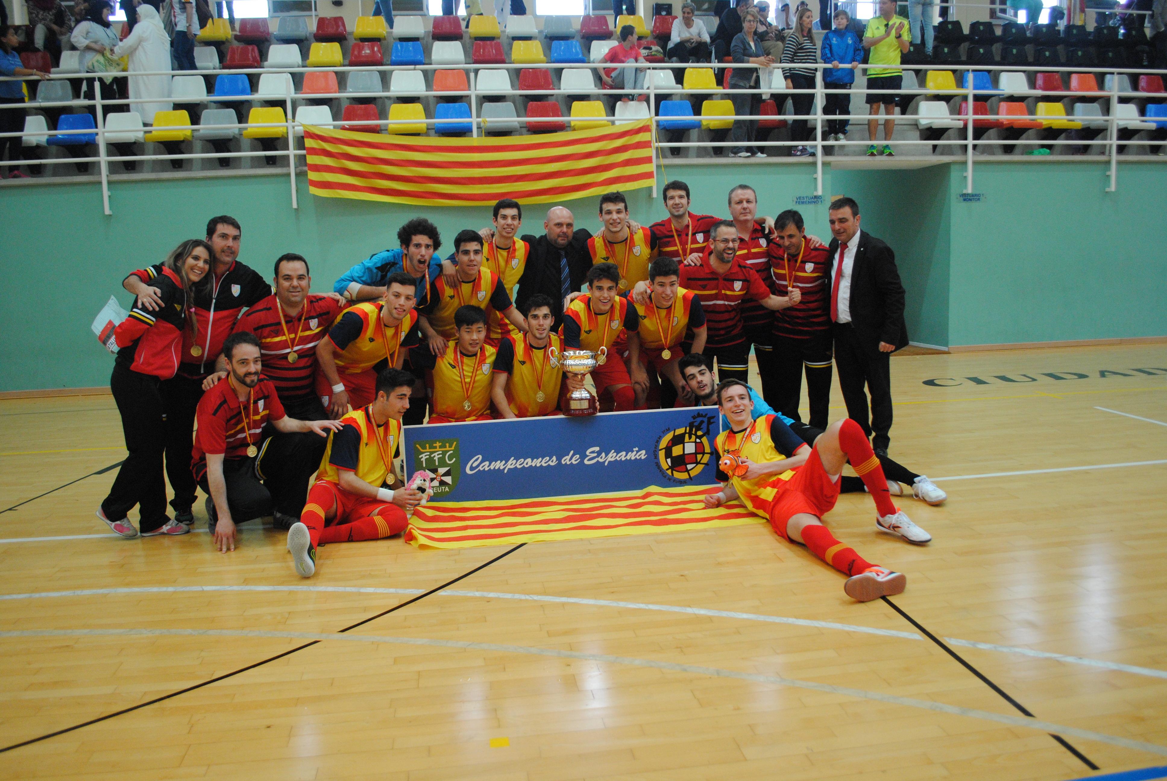 Campionat d'Espanya sub 19 aconseguit a Ceuta (2015-2016)