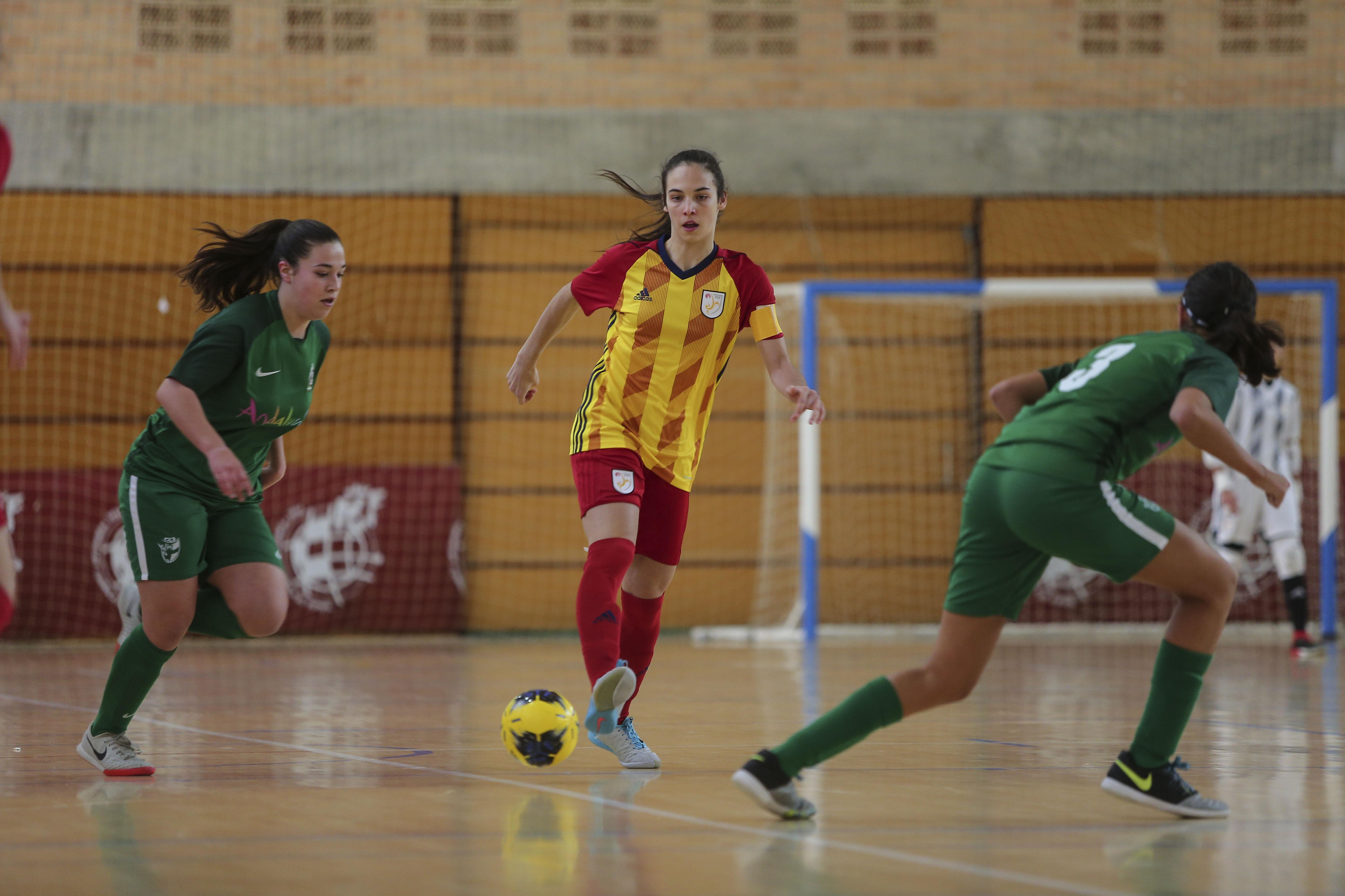 Laia Rojo, capitana i campiona d'Espanya amb la Selecció Catalana sub 16 femenina
