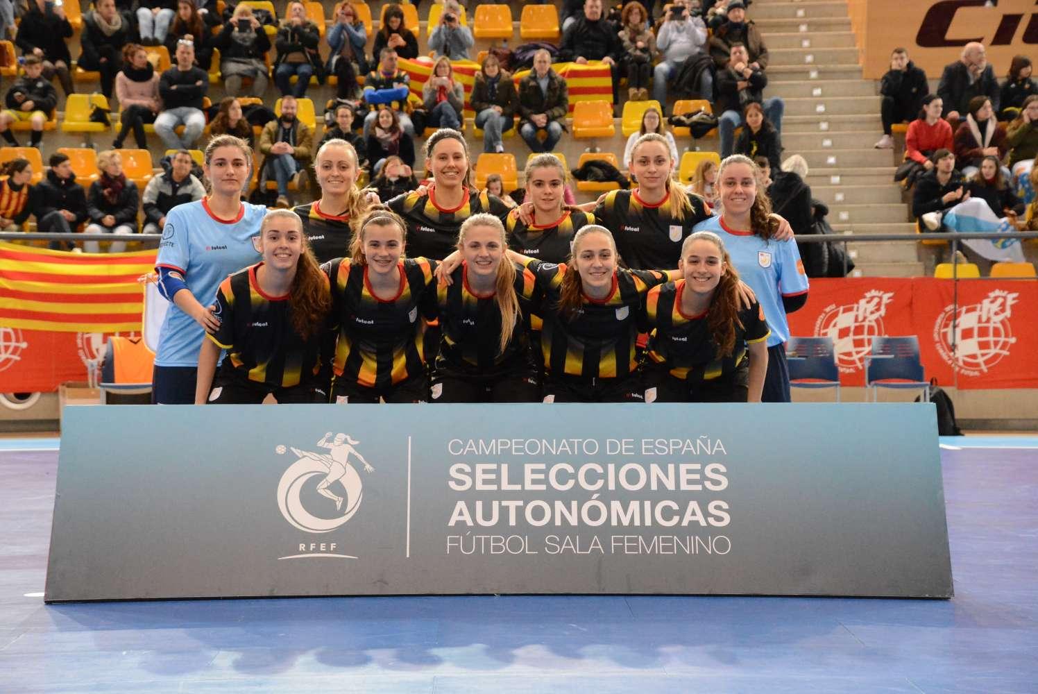 Èlia Gulli, campiona d'Espanya amb la Selecció Catalana sub 10 femenina