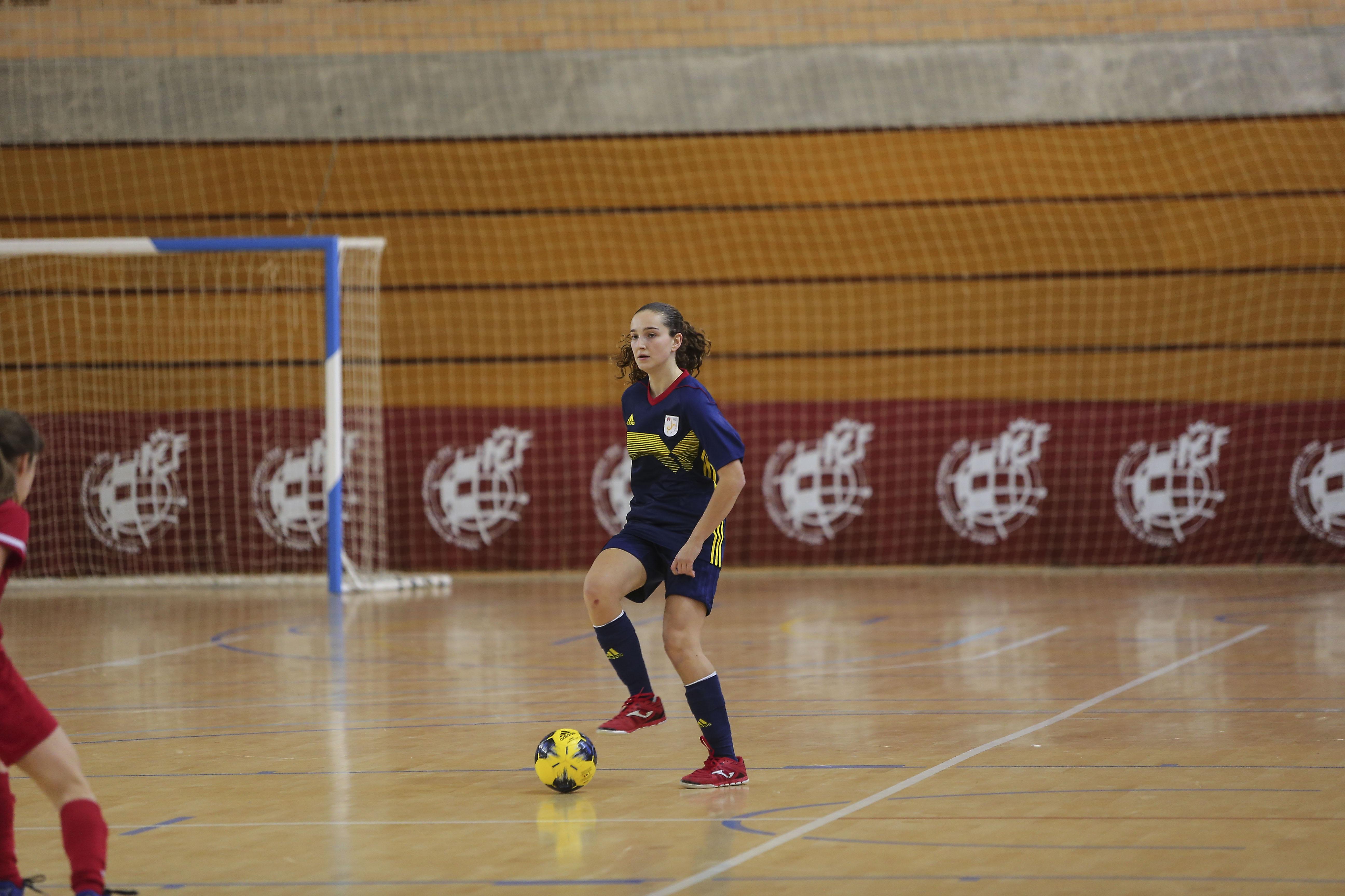 Aina Torrents, campiona d'Espanya amb la Selecció Catalana sub 16 femenina