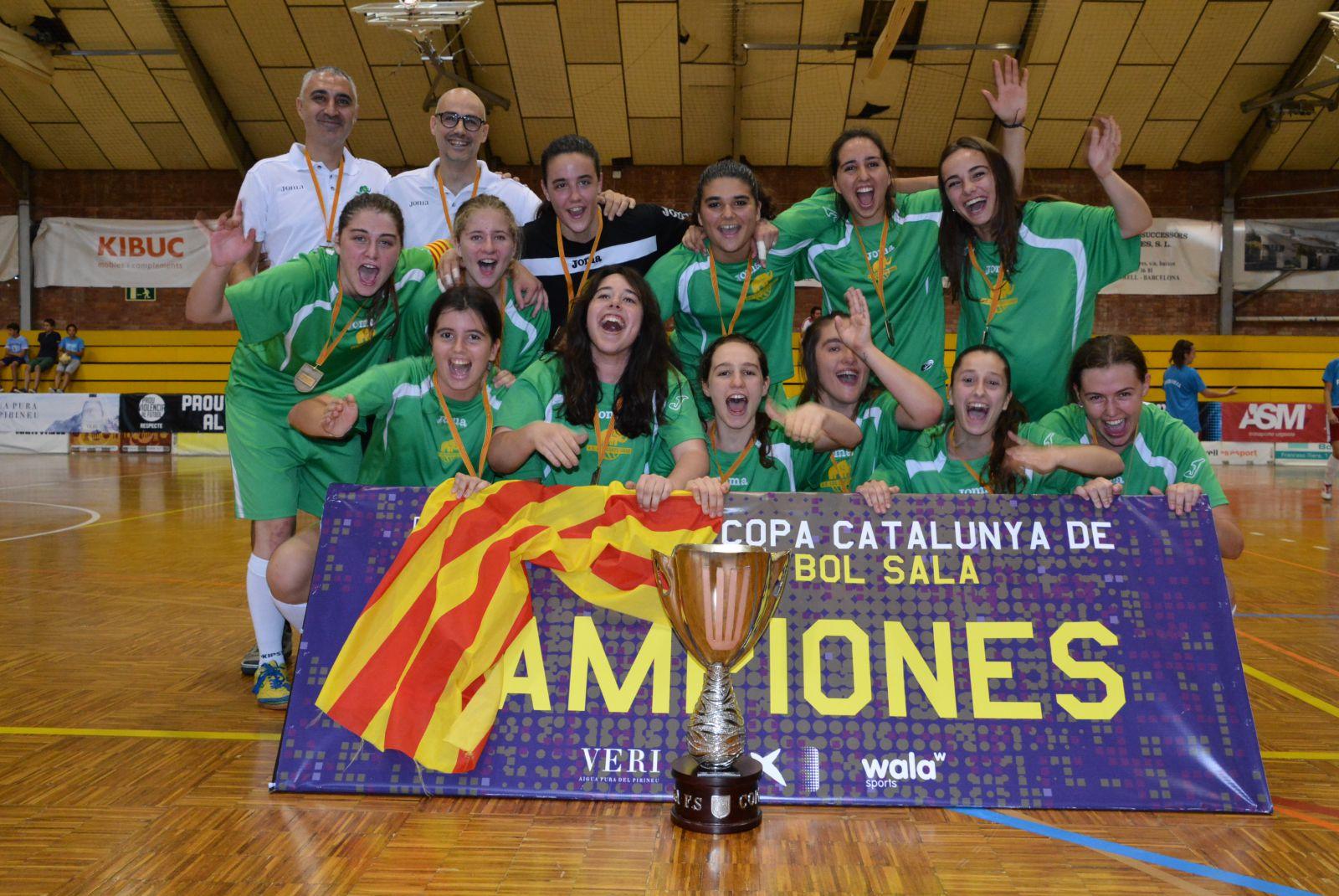 De Proclama Mataró Les I Futsal Campiona Copa Es S'imposa Corts Al PIz016