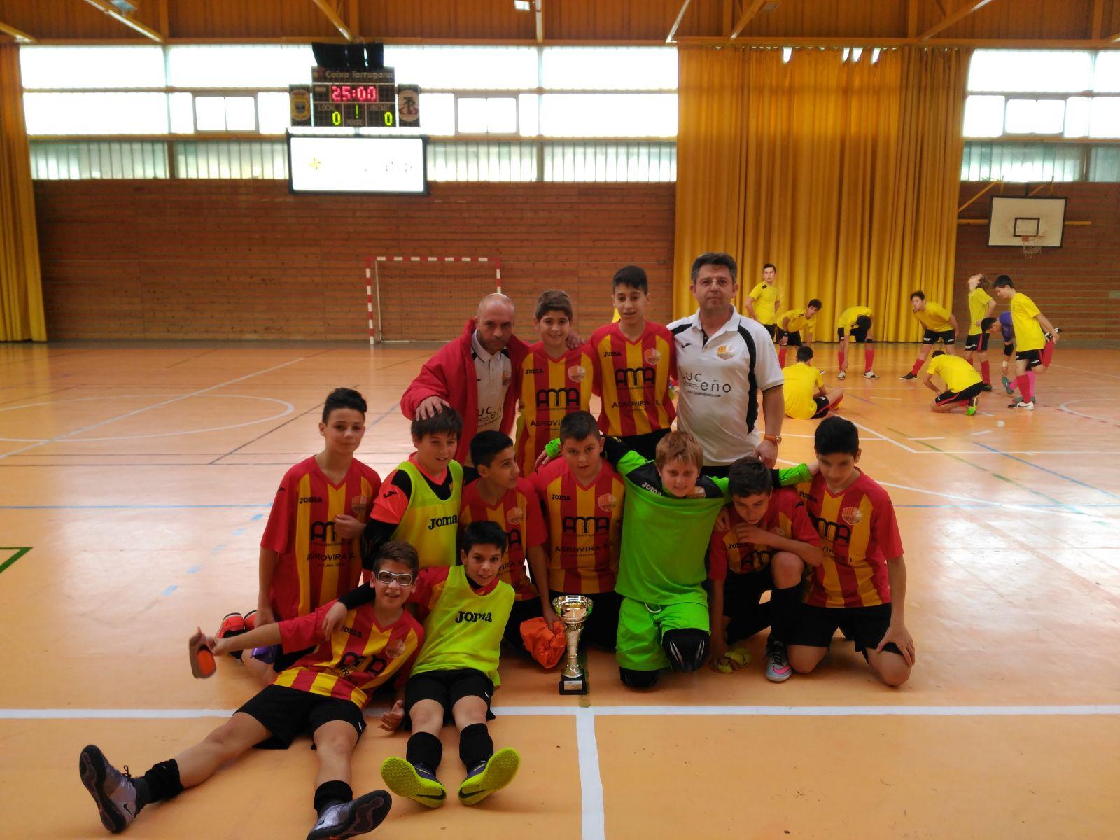 Campions copa tarragona de futbol sala for Sala 0 tarragona