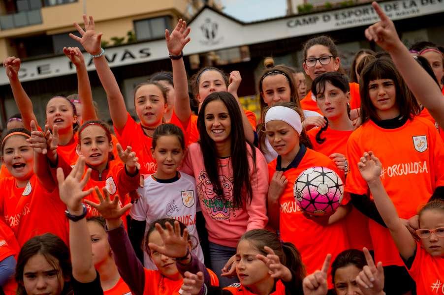 Brenda Pérez, jugadora RCD Espanyol
