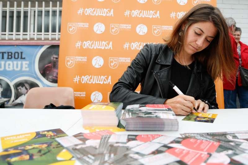 Vicky Losada, jugadora FC Barcelona