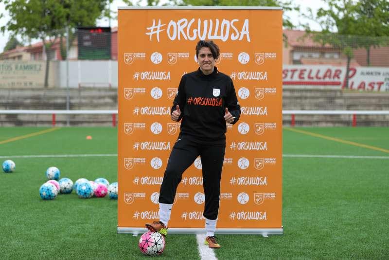 Noelia Aybar, entrenadora EF Can Mir