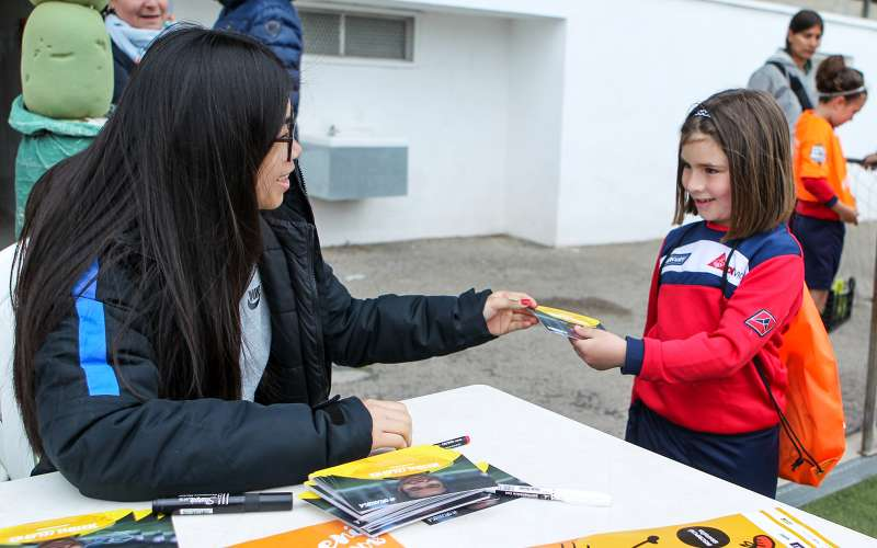 Jordina Colomer, jugadora FC Barcelona 'B'