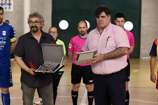 Bernat Millet (Tot Sant Cugat) i José Luis Valero (Olimpyc La Floresta)