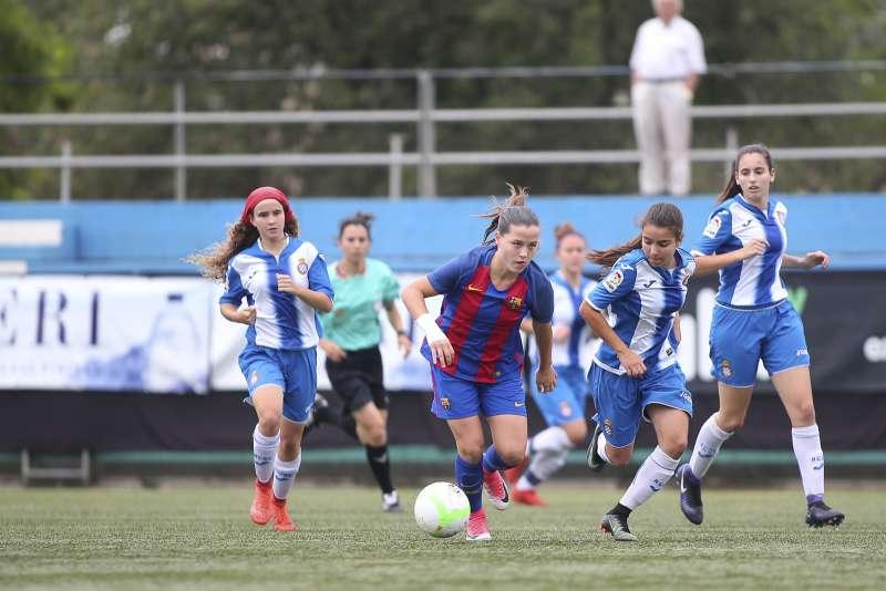FC Barcelona i RCD Espanyol es van enfrontar en la final de la temporada passada disputada a Santa Coloma de Gramenet.