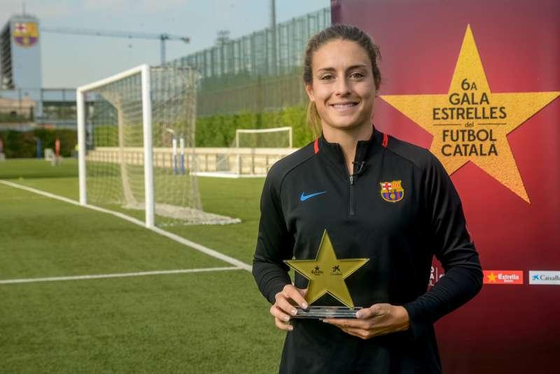 Alèxia Putellas, premiada com a millor jugadora catalana a la 6a Gala de les Estrelles