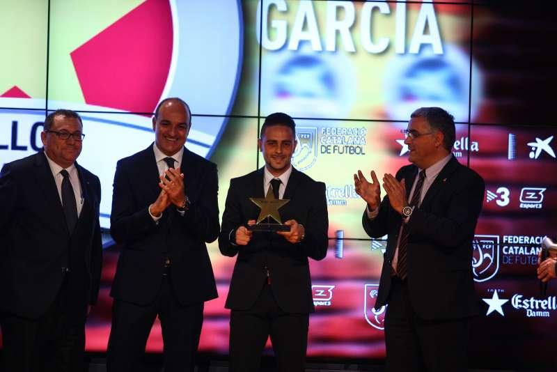 Sergio García, premiat com a millor jugador català de la 3a Gala de les Estrelles