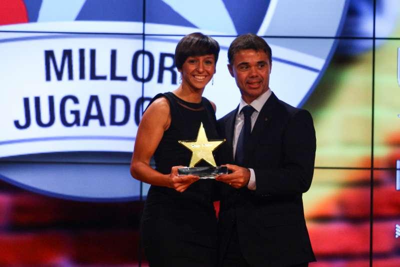 Vicky Losada, distingida com a millor jugadora catalana de la 3a Gala de les Estrelles