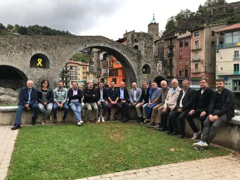 Partit de Segona Catalana entre la UE Camprodon i la UE Porqueres.