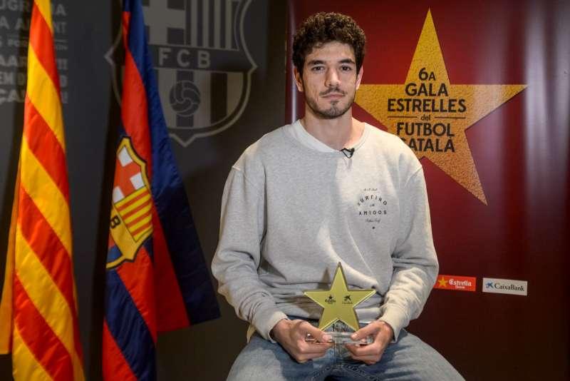 Marc Tolrà, guardonat com a millor jugador català a la 6a Gala de les Estrelles