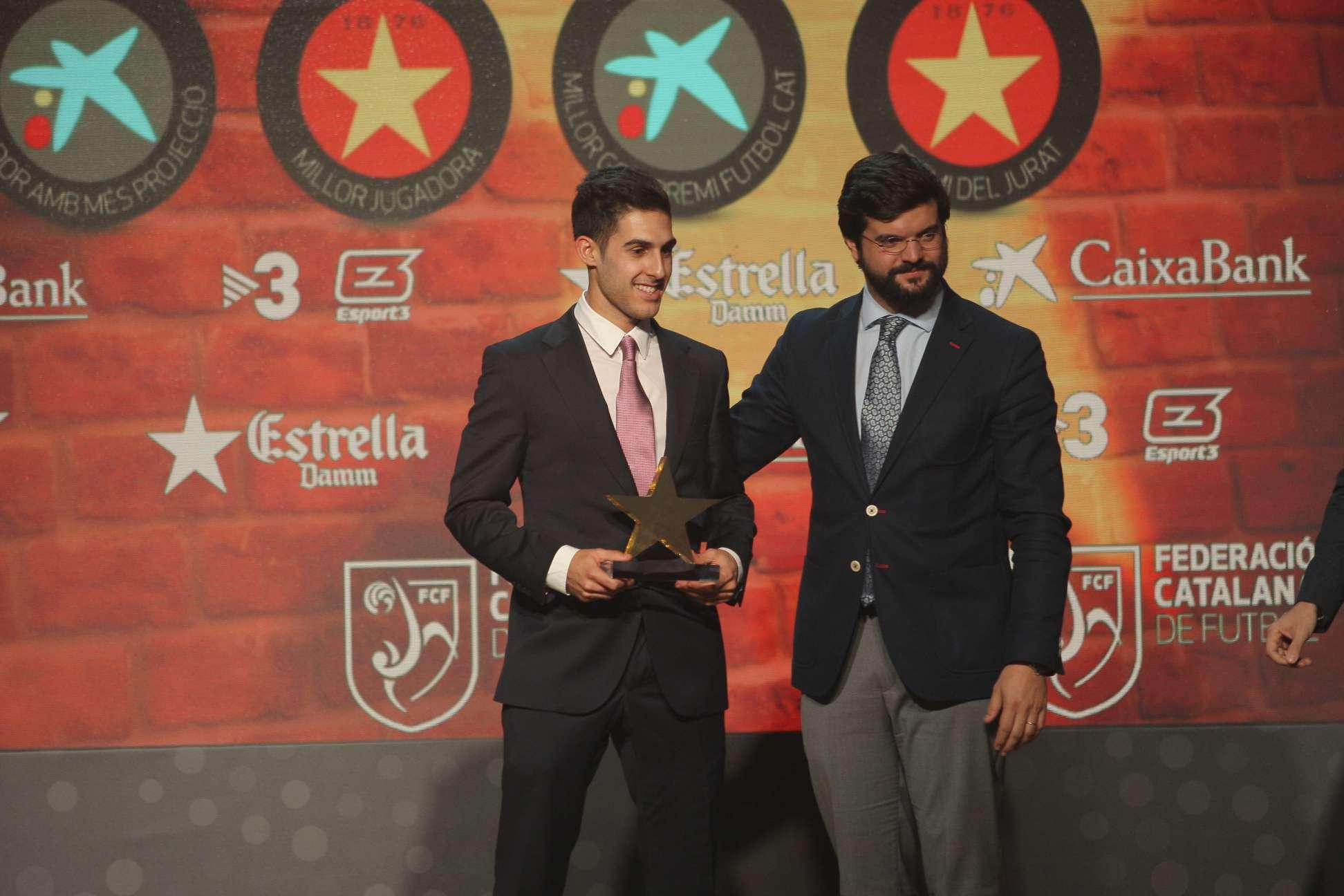 Adolfo Fernández, guardonat com a millor jugador a la 5a Gala de les Estrelles