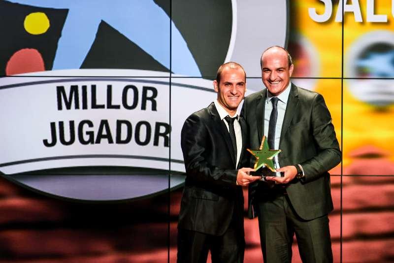Daniel Salgado, distingit com a millor jugador català de la 4a Gala de les Estrelles