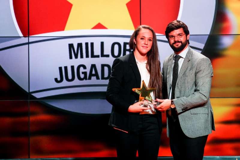 Nerea Vilalta, guardonada com a millor jugadora catalana a la 4a Gala de les Estrelles