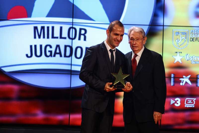 Daniel Salgado, premiat com a millor jugador català de la 3a Gala de les Estrelles