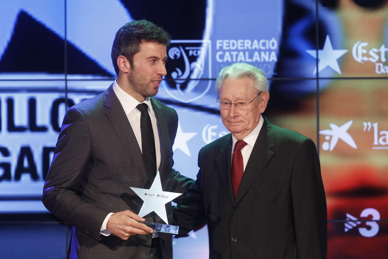 Jordi Torras, premiat com a millor jugador català de la 2a Gala de les Estrelles