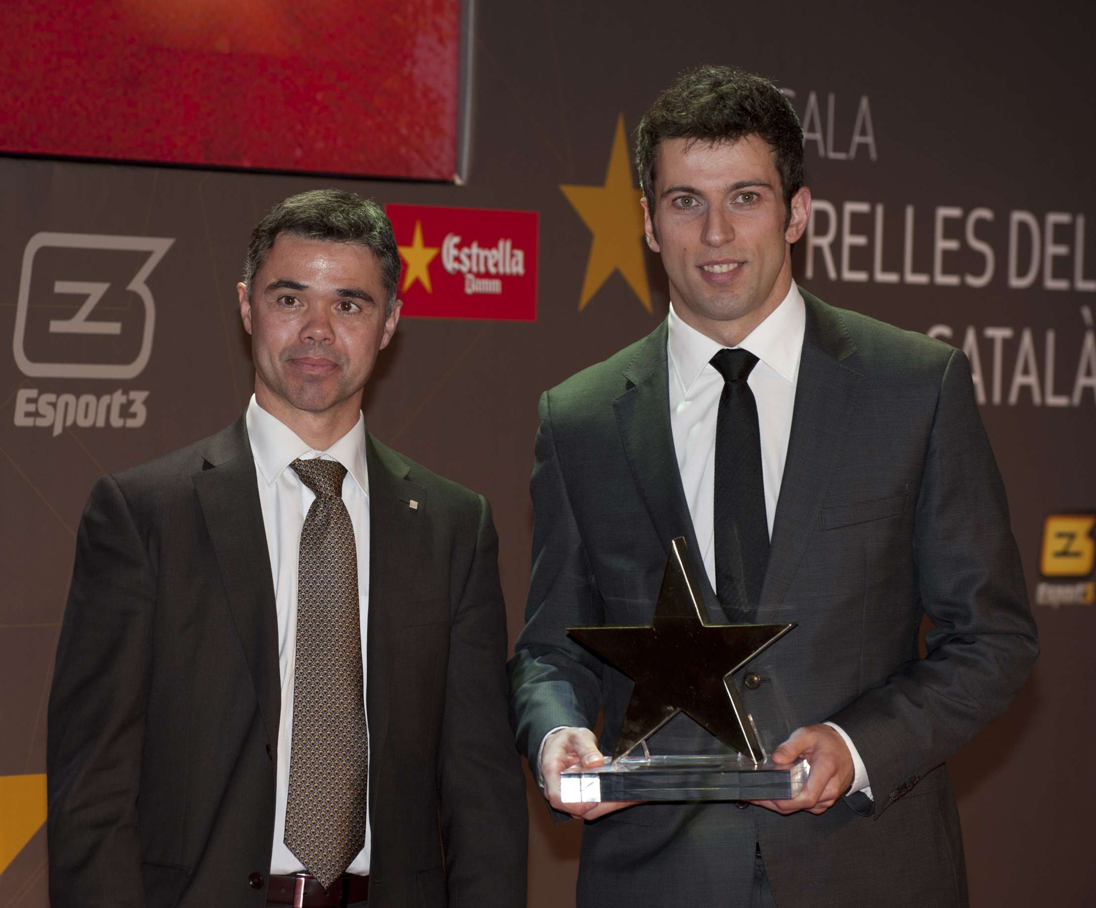 Jordi Torras, guardonat com a millor jugador català de la 1a Gala de les Estrelles