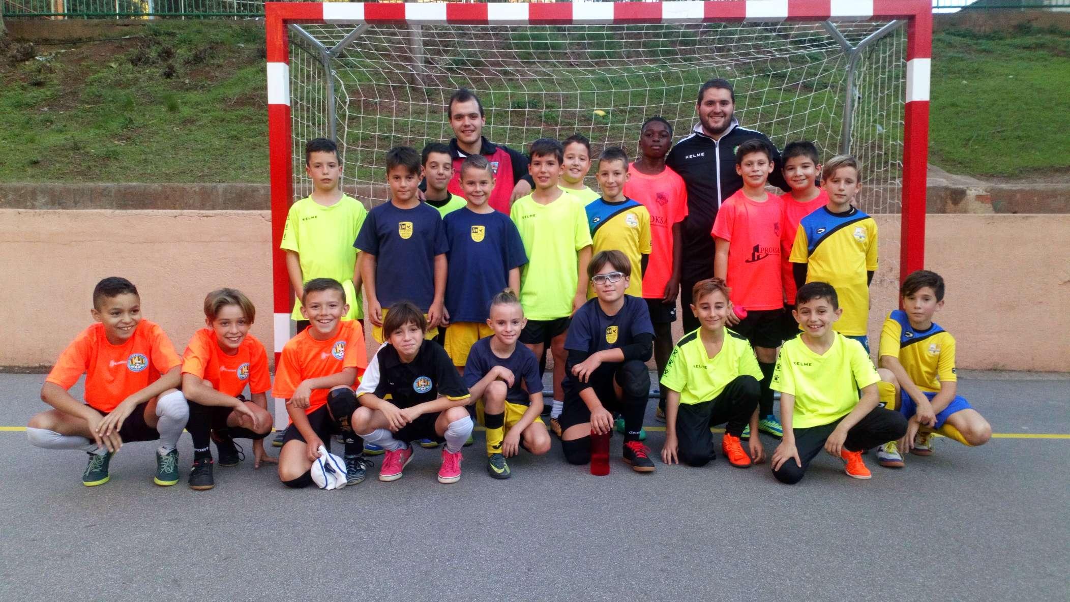 1a sessió entrenament Selecció Comarcal - Barcelonès Nord