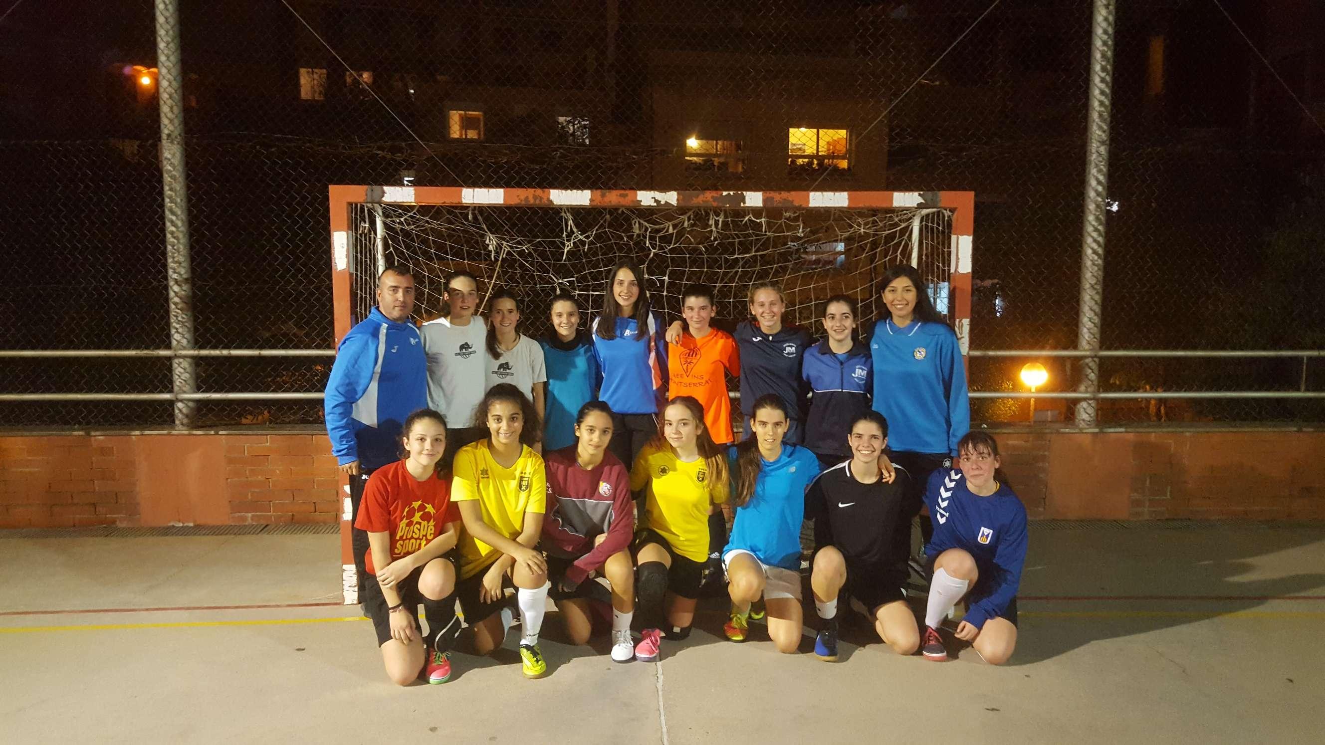 1a sessió entrenament Selecció Comarcal - Barcelonès Sud