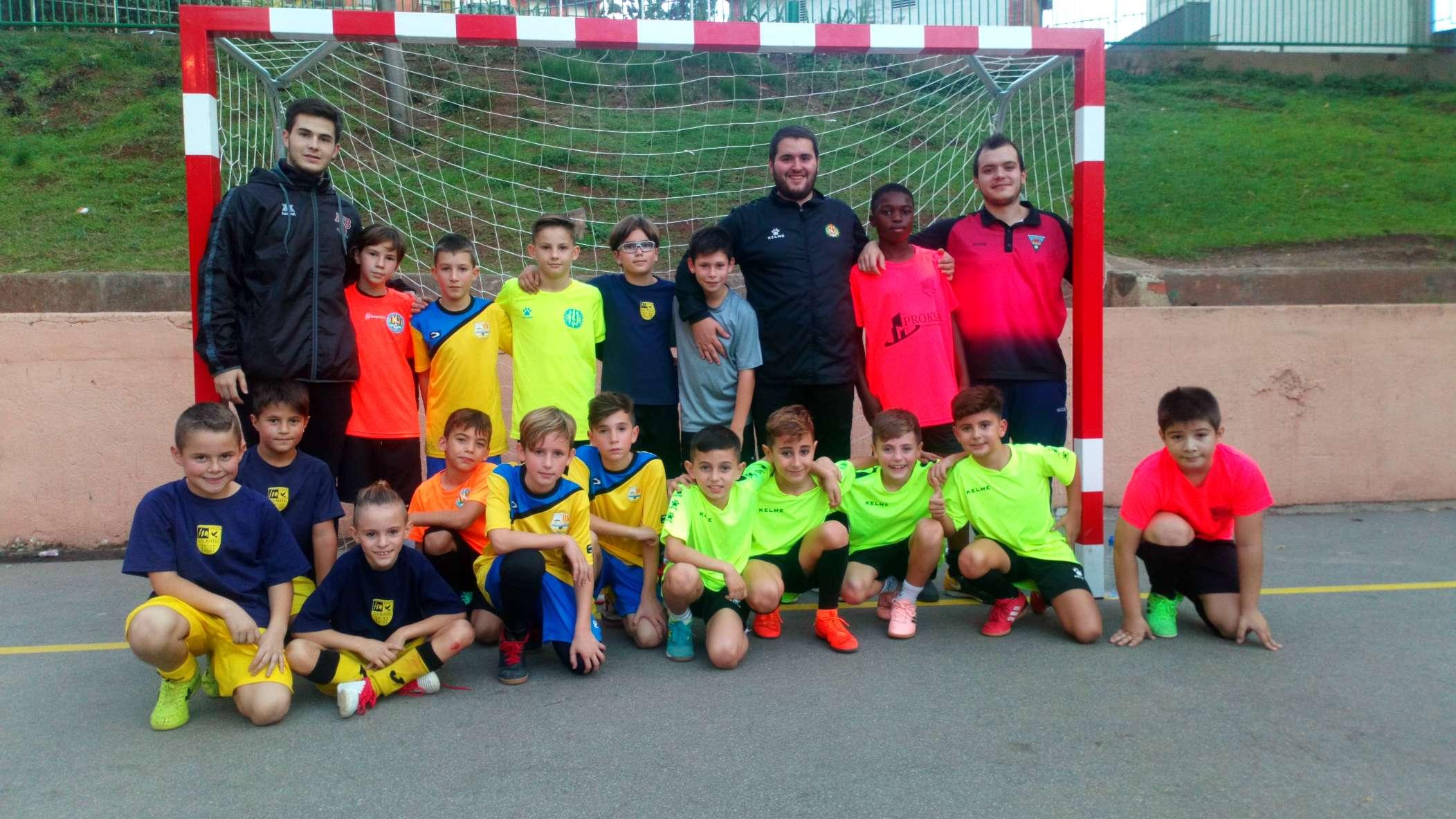 2a sessió entrenament Selecció Comarcal - Barcelonès Nord
