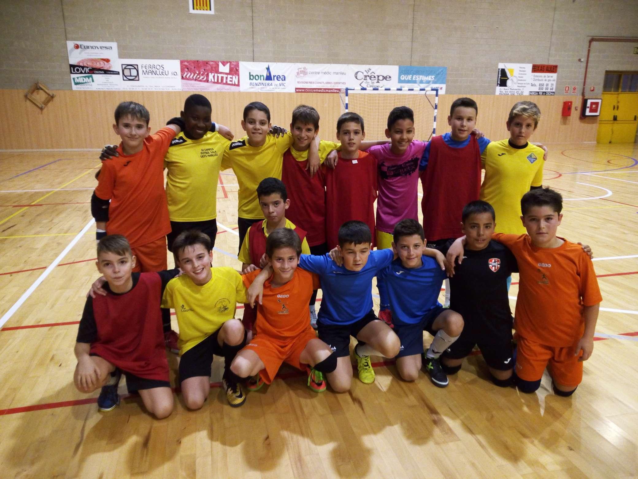 2a sessió entrenament Selecció Comarcal - Catalunya Central