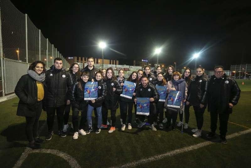Equip del FC Levante Las Planas