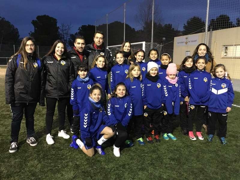 Equip femení del CE Sabadell FC