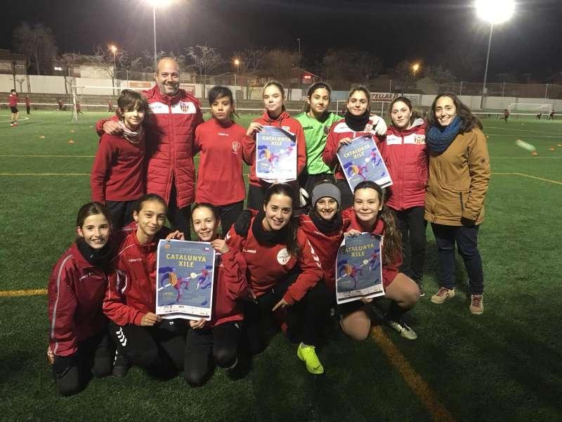 Equip femení de la UE Castellar