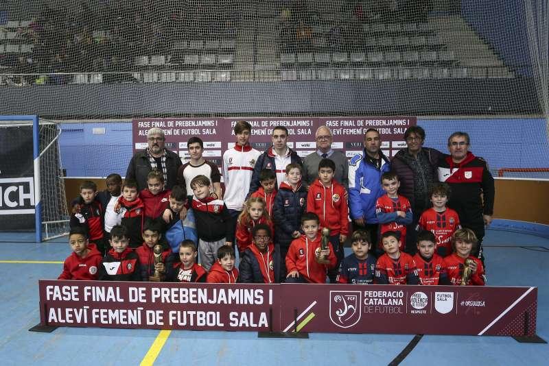 GRUP A - PREBENJAMÍ: CE Futsal Mataró, Tordera Parc FS Ath Club i Manresa FS