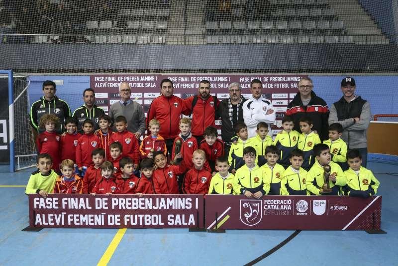 GRUP E - PREBENJAMÍ: Girona EFS, AE Montmeló i CFS Sant Joan Despí 'A'